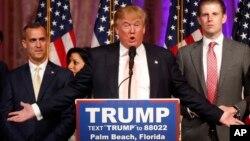 Republikanski predsednički pretendent Donald Tramp