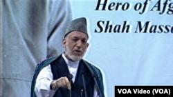 President Karzai Masood death anniversary