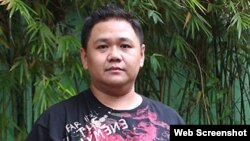 Danh hài Minh Béo (tên thật là Hồng Quang Minh) sẽ ra tòa án Mỹ vào ngày 15/4/2016. Ảnh chụp từ trang vnexpress.
