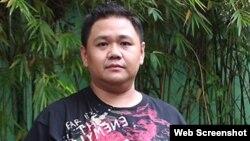 Danh hài Minh Béo (ảnh chụp từ trang vnexpress).