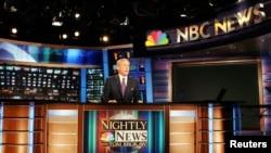 Amerikalıların əksəriyyəti informasiyanı NBC, ABC və CBS axşam xəbərləri proqramlarından alır.