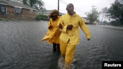 Hurricane Isaac Thrashes Louisiana, Mississippi