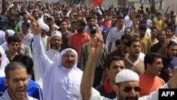 Протест населення шиїтського села Карзакан у Бахрейні