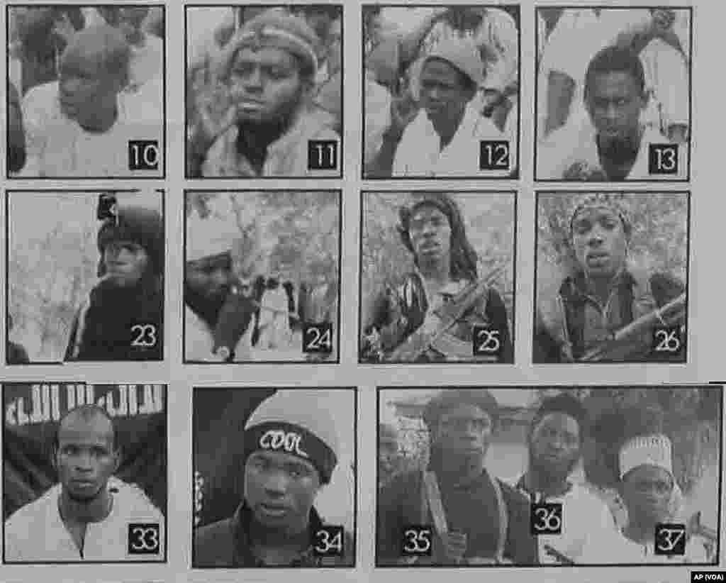 'Yan Kungiyar Boko Haram Da Ake Nema Ruwa A Jallo