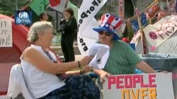 VOA60 Extra- DC Protests update