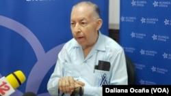 Carlos Tünnermann, coordinador de la Alianza Cívica por la Justicia y la Democracia de Nicaragua.