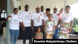 Evariste Ndayishimiye n'Umuryango wiwe