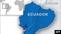 Peta Ekuador.