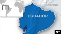 ແຜນທີ່ປະເທດ Ecuador