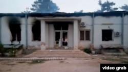 بمبادرمان شفاخانۀ کندز سبب کشته شدن ۲۲ نفر شد