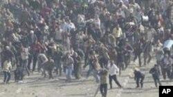 سڑکوں پر رہیں گےجب تک مبارک ملک چھوڑ نہیں دیتے: مظاہرین