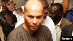 Karim Wade, fils et ancien minsitre de l'ex-président sénégalais, Abdoulaye Wade