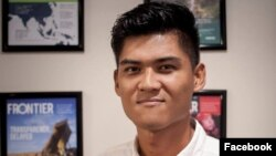 Kate Webb Prize ကိုရရွိတဲ့ ကိုျမတ္ေက်ာ္သူ ( Mratt Kyaw Thu facebook )