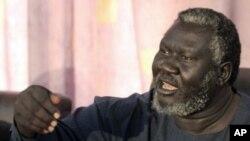 Governor do estado do Nilo Azul Malik Aggar
