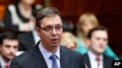 Aleksandar Vučić, premijer Srbije