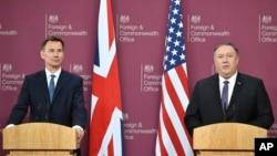 AQSh va Britaniya tashqi ishlar vazirlari Londonda