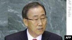 BM Genel Sekreteri Ban Kuzey Kore'yi Kınadı