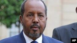 하산 셰이크 모하무드 소말리아 대통령 (자료사진)