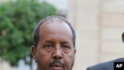 Perezida wa Somaliya Hassan Sheikh Mohamud
