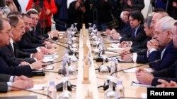 نشست وزرای خارجه ترکیه، روسیه و ایران در مسکو