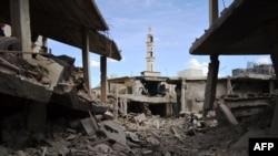 September 30, 2015 , sirijski grad Talbisseh u pokrajini Homs