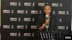 Muleya Mwananyanda, vice-directora da Amnistia Internacional para África Austral