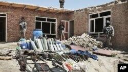 Oružje i municija, zaplenjeni u istočnom delu Kabula