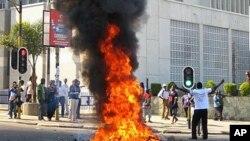 Manifestações em Lilongwe