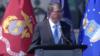 US Secretary of Defense Ash Carter announces third phase of Asia Rebalance, 9/29/2016.