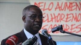 Director de educação do Namibe Pacheco Francisco