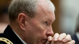 Joint Chiefs Chairman General Martin Dempsey (File)