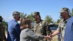 Američka delegacija donirala je 450 komada zaštitne opreme za deminere (Foto: Ministarstvo odbrane BiH)