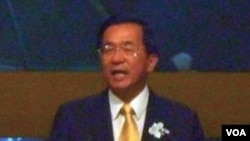 台灣前總統陳水扁(資料圖片)