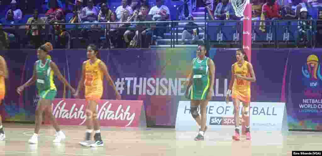 2019 Netball World Cup, Liverpool