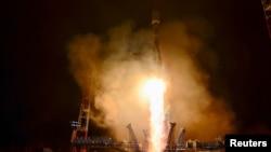Запуск ракеты «Союз-2» со спутником, 25 октября 2018