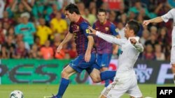 Futbollisti argjentinas Lionel Messi nderohet në Barcelonë