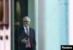 آسٹریلیا کے سابق وزیرِ اعظم میلکم ٹرن بل (فائل فوٹو)