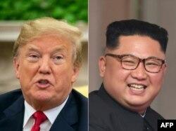 AQSh Prezidenti Donald Tramp va Shimoliy Koreya rahbari Kim Chen Un