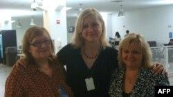Российские правозащитницы в Нью-Йорке