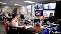 Pusat Operasi Gawat Darurat untuk penanganan wabah virus corona di Kirkland, Washington, AS, 2 Maret 2020. (Foto: Reuters)