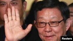 Ông Trần Đức Minh, chủ tịch hiệp hội về quan hệ giữa Trung Quốc và Đài Loan đến thăm Đài Loan trong 8 ngày, 9/12/14