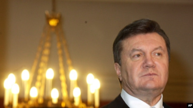 Ukraine's President Viktor Yanukovych, December 15, 2010 (file photo)