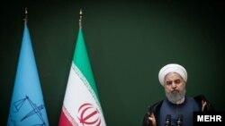 Rais wa Iran Hassan Rouhani