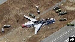 韓亞航波音777航班星期六在三藩市機場降落時發生致命意外