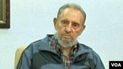 Fidel Castro u emisji Mesa Redonda kubanske televizije