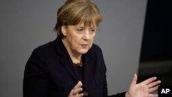 Kanselir Jerman Angela Merkel tidak akan mengubah kebijakan pemerintahannya terhadap para pengungsi.(foto: dok).