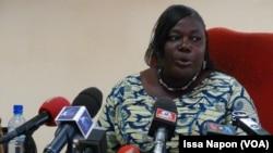 Maiza Sérémé, procureure de la Republique, Ouagadougou, 27 janvier 2016 (VOA/Issa Napon))