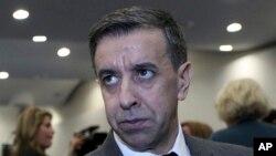Ali Haddad à Alger le 7 février 2018.