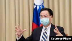 台灣外交部長吳釗燮(照片來源:台灣外交部
