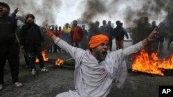 اعتراض به حمله انتحاری در کشمیر